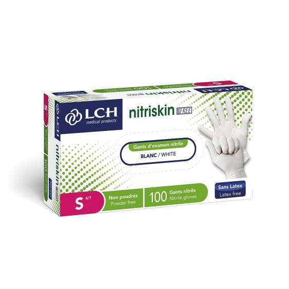 Gants Nitrile non poudrés Sensitex Evolution Free - Boîte de 100