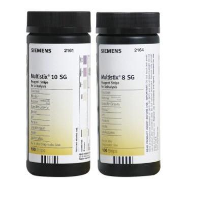 Bandelettes urinaires Multistix 8SG et 10SG