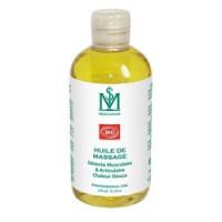 Huile de massage détente musculaire et articulaire Bio - 250 ml
