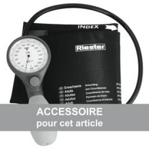 Brassard Velcro adulte nylon noir