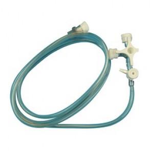 Accessoires de Perfusion - ROBINET 3V 100CM+prolongat +site inje