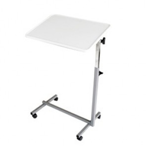 Table Easy - TABLE DE LIT PLATEAU GRIS PERLE