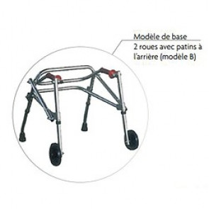 DEAMBULATEUR WALKER 2B