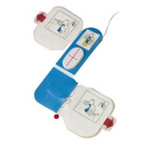 Électrode CPRD de simulation pour défibrillateur