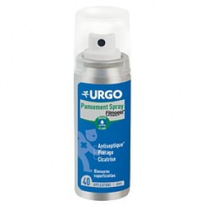 Pansement spray URGO - Stop saignement