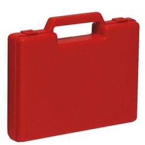 Trousse de secours valise vide rouge