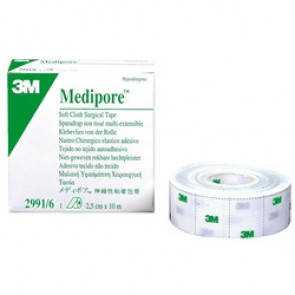 Sparadrap non prédécoupé Medipore Liner 3M