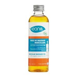 Huile pour Massage Musculaire - Bio - EONA (Plusieurs contenances disponibles)