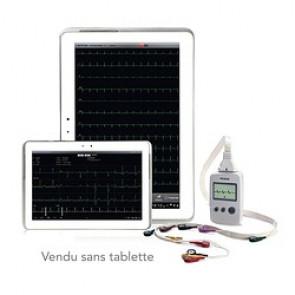 ECG EDAN PAD - 12 dérivations avec interprétation (pour tablettes Android)