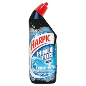 Gel WC Harpic Power Plus - Parfum explosion marine