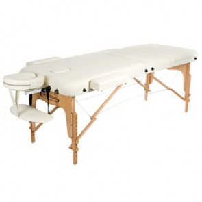 TABLE DE MASSAGE PLIANTE VIP 3 RESTPRO CREME