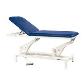 Table de massage électrique 2 plans C3500 - Blanc