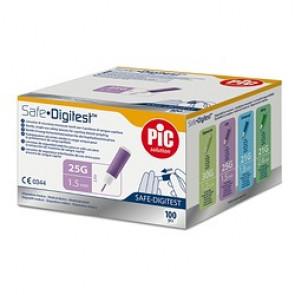 Lancettes Safe Digitest Plus 25G 1,5mm – 100Pièces