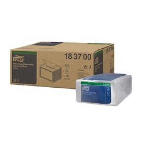 Lingettes Tork de nettoyage Microfibre blanc à usage unique x40
