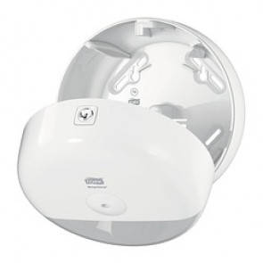 Mini Distributeur Tork SmartOne pour Papier Toilette Rouleau T9, Blanc
