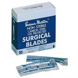 Lames de bistouris Swann-Morton non stérile N°10