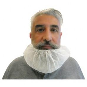 Cache barbe à usage unique