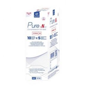 Compresses Non tissées Stériles Pure N40 - 10cmx20cm - LCH - Boite de 50