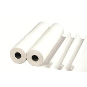 Drap d'examen plastifié blanc 50x38cm 180 formats