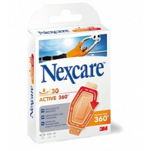 Pansements support mousse Nexcare Active 360