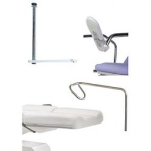 Accessoires spéciale gynécologie pour divan Lemi 4, Lemi 3, Lemi 2, Lemi 4 Bi-Zak, Lemi 3 Bi-Zak, Lemi 2 Bi-Zak, Synchro Bi-Zak, Lemi Med, Tesera,Hair tech, Gyno plus, Gyno, Hydrogyno