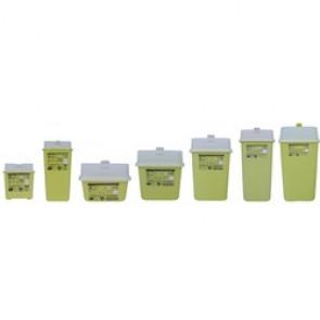 Collecteur d'aiguilles de DASRI - de déchets d'activités de soins à risques infectieux