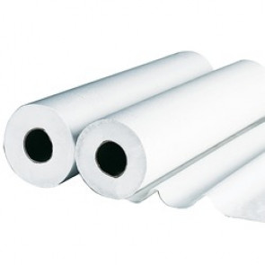 Drap d'examen blanc ouaté 50x38 - Carton de 6 ou 12 rouleaux