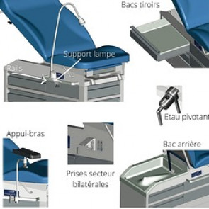 Accessoires pour le divan Kompact
